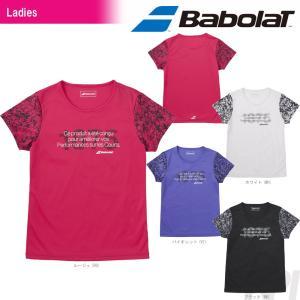 バボラ Babolat テニスウェア Women's レディース ショートスリーブシャツ BAB-8782W 2017FW 「2017新製品」|sportsjapan