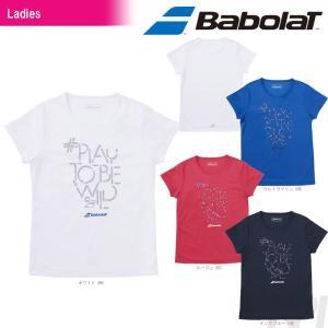 バボラ Babolat テニスウェア Women's レディース ショートスリーブシャツ BAB-8783W 2017FW 「2017新製品」|sportsjapan