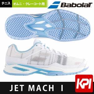 バボラ Babolat テニスシューズ レディース JET MACH I ジェットマッハ OMNI W オムニ・クレーコート用 BAS18760|sportsjapan