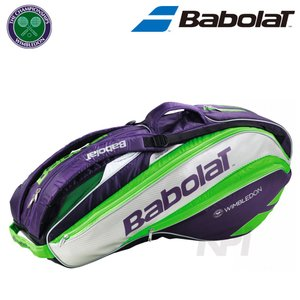 『即日出荷』Babolat バボラ 「PURE STRIKE WIMBLEDON ウィンブルドン ラケットバッグ ラケット6本収納可 RACKET HOLDER×6 BB751128」テニスバッグ「KPI」 sportsjapan