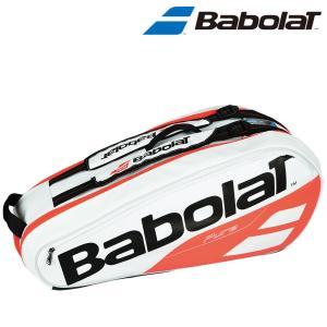 バボラ Babolat テニスバッグ・ケース  RACKET HOLDER X6 ラケットバッグ ラケット6本収納可  BB751172『即日出荷』|sportsjapan