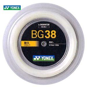 YONEX ヨネックス 「BG38 200mロール BG38-2」 バドミントンストリング ガット KPI+|sportsjapan