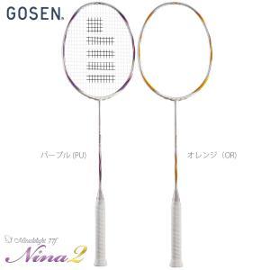 GOSEN ゴーセン 「MIRACLELIGHT 77F NINA2 ミラクルライト77F ニーナ2  BML77N2」 バドミントンラケット|sportsjapan