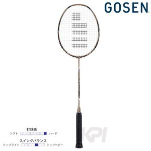 GOSEN ゴーセン 「CUSTOMEDGE Version2.0 TYPE‐K  カスタムエッジ V2 タイプ-ケイ  BRCE2TK」バドミントンラケット|sportsjapan