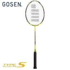 GOSEN ゴーセン 「CUSTOMEDGE version 2.0 TYPE-S カスタムエッジ2.0 タイプエス BRCE2TS」バドミントンラケット|sportsjapan