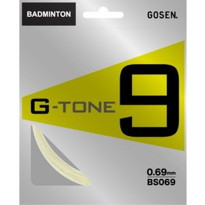「2014新製品」GOSEN(ゴーセン)「G-TONE 9(ジー・トーン・ナイン) BS069」バドミントンストリングKPI+|sportsjapan