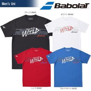 バボラ Babolat テニスウェア ユニセックス SHORT SLEEVE SHIRT ショートスリーブシャツ BTULJA34 2018SS|sportsjapan