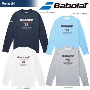 バボラ Babolat テニスウェア ユニセックス ロングスリーブシャツ BTUMJB31 2018FW|sportsjapan
