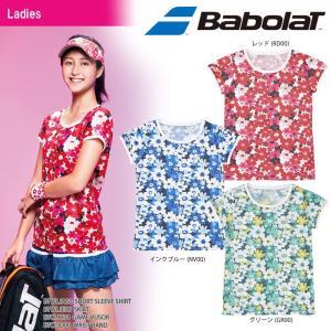 バボラ Babolat テニスウェア レディース SHORT SLEEVE SHIRT ショートスリーブシャツ BTWLJA10 2018SS|sportsjapan