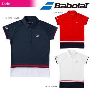 バボラ Babolat テニスウェア レディース ショートスリーブシャツ BTWMJA13 2018FW 3月上旬出荷予定※予約|sportsjapan