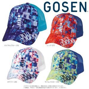 ゴーセン GOSEN テニスキャップ・バイザー  2018年 ALL JAPAN オールジャパンキャップ キューブ C18A03 2月末発売予定※予約|sportsjapan