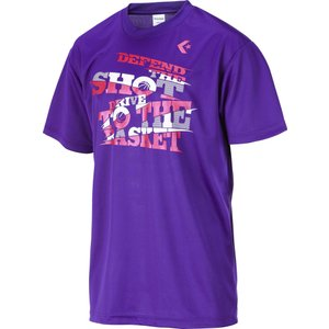 CONVERSE コンバース [ メンズ バスケットボールウェア  Tシャツ CB272309]バスケットTシャツ|sportsjapan
