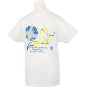 CONVERSE コンバース [ ジュニア バスケットボールウェア  JRプリントTシャツ CB472302]バスケットTシャツ|sportsjapan