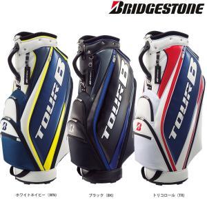 ブリヂストン BRIDGESTONE ゴルフバッグ・ケース メンズ TOUR B キャディバッグ スポーティベーシックモデル CBG820|sportsjapan