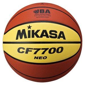 MIKASA ミカサ [バスケットボール 7号 チャ/キ CF7700NEO]バスケットボール|sportsjapan