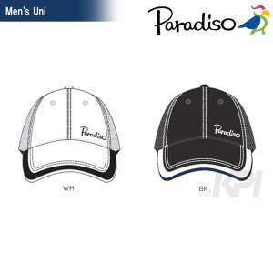テニスウェア メンズ パラディーゾ PARADISO ハーフメッシュキャップ CPCM73 2017FW 2017新製品|sportsjapan
