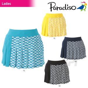PARADISO(パラディーゾ)「レディーススコート DCL01L」テニスウェア「2016SS」KPI+|sportsjapan