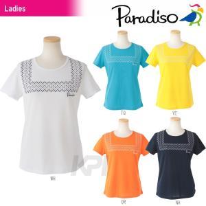 PARADISO(パラディーゾ)「レディース半袖プラクティスシャツ DCL23A」テニスウェア「2016SS」KPI+|sportsjapan