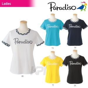 PARADISO パラディーゾ 「レディース半袖プラクティスシャツ DCL26A」テニスウェア「2016SS」|sportsjapan