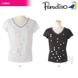 PARADISO(パラディーゾ)「レディース半袖ゲームシャツ DCL72A」テニスウェア「2016SS」KPI+|sportsjapan