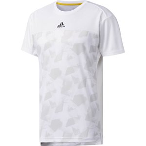「2017新製品」adidas アディダス [MENS CLUB グラフィック Tシャツ DJF12]テニスTシャツ「2017FW」|sportsjapan
