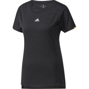 「2017新製品」adidas アディダス [WOMENS CLUB レディース ジャガードTシャツ DJF28]テニスTシャツ ウェア「2017FW」 sportsjapan