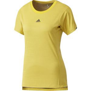 「2017新製品」adidas アディダス [WOMENS CLUB レディース ジャガードTシャツ DJF28]テニスTシャツ ウェア「2017FW」|sportsjapan