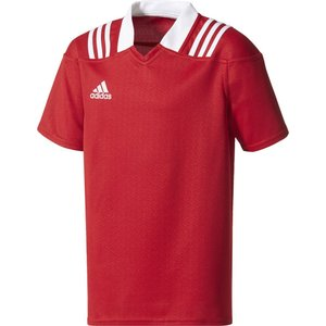 「2017新製品」adidas アディダス [3ストライプ チームジャージー キッズ DLP82]ラグビアメゲームシャツ・パンツ「2017FW」|sportsjapan