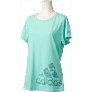 「2017新製品」adidas(アディダス)[71 W M4T ロゴ ルーズSS Tシャツ DML38]マルチSPTシャツKPI+ sportsjapan