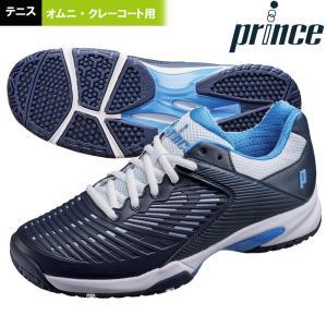プリンス Prince テニスシューズ レディース WIDE LITE II CG  ワイドライト2CG  オムニ・クレーコート用 DPSWC2L|sportsjapan