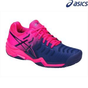 アシックス asics テニスシューズ レディース GEL-RESOLUTION 7 CLAY クレーコート用 E752Y-400|sportsjapan