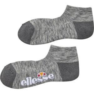 エレッセ Ellesse テニスアクセサリー  メランジアンクルソックス EAC0804-MX|sportsjapan