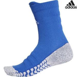 アディダス adidas マルチSPアクセサリー  ALPHASKIN グリップハーフクッション クルーソックス ECF88-CV7578|sportsjapan