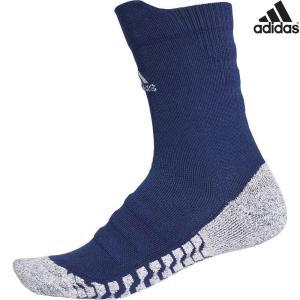 アディダス adidas マルチSPアクセサリー  ALPHASKIN グリップハーフクッション クルーソックス ECF88-CV7579|sportsjapan