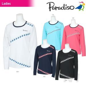 テニスウェア レディース パラディーゾ PARADISO レディース長袖ゲームシャツ ECL06F 2016FW|sportsjapan
