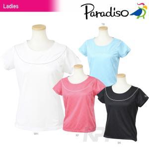 PARADISO(パラディーゾ)「レディース半袖ゲームシャツ ECL07A」テニスウェア「2016FW」KPI+|sportsjapan