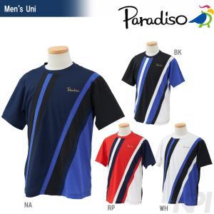PARADISO パラディーゾ 「メンズ半袖ゲームシャツ ECM10A」テニスウェア「2016FW」|sportsjapan
