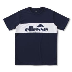 エレッセ Ellesse テニスウェア メンズ ロゴティーLogo Tee EM18301-NY 2018FW sportsjapan