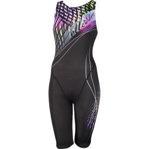 Ellesse エレッセ [ レディース フィットネス用水着  プリントオールインワン ES47252T]水泳水着|sportsjapan