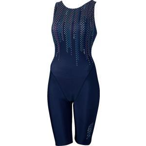 Ellesse エレッセ [ レディース フィットネス用水着  プリントオールインワン ES47258]水泳水着|sportsjapan