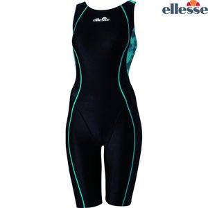 エレッセ Ellesse 水泳水着 レディース 【Fina承認】 カモFINAオールインワン 競泳用水着 ES48102F ES48101F-KG sportsjapan