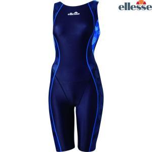 エレッセ Ellesse 水泳水着 レディース 【Fina承認】 カモFINAオールインワン 競泳用水着 ES48106F ES48101F-NB|sportsjapan