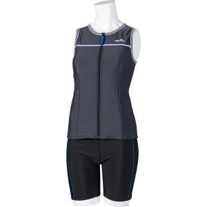 エレッセ Ellesse 水泳水着 レディース  フィットネス用水着  セパレーツ ES57115-KX|sportsjapan