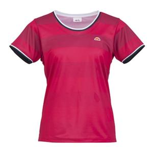 Ellesse(エレッセ)[レディース クルーネックシャツ ETS0501L]テニスウェアKPI+|sportsjapan