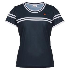 テニスウェア レディース エレッセ Ellesse クルーネックシャツ ETS0610L|sportsjapan