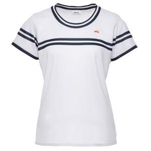 Ellesse(エレッセ)[レディース クルーネックシャツ ETS0610L]テニスウェアKPI+|sportsjapan