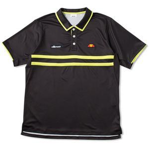 テニスウェア ジュニア エレッセ Ellesse TEAM ポロシャツ ETS07000-K 2018SS|sportsjapan