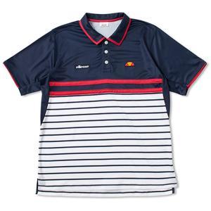 エレッセ Ellesse テニスウェア メンズ・ユニ ジュニア対応  TEAM ポロシャツ ETS07000-NB 2018SS sportsjapan