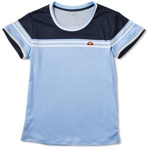 「2017新製品」Ellesse エレッセ 「TEAM レディース クルーシャツ ETS0701L」テニスウェア「2017SS」|sportsjapan