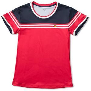 「2017新製品」Ellesse エレッセ 「TEAM レディース クルーシャツ ETS0701L」テニスウェア「2017SS」 sportsjapan